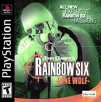 Tom Clancy's Rainbow Six: Lone Wolf (Sony PlayStation 1, 2002) GOOD