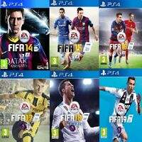 Fifa 14 15 16 17 18 PS4 Bundle Game - Mint Condition - FAST & FREE Delivery