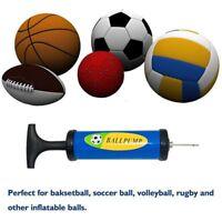 Inflator Ball Pump Needles Valve Adaptateur pour Ballons de Football Basketba u1