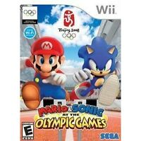 NINTENDO Wii GAME MARIO & SONIC AT THE OLYMPIC GAMES ALL COMPLETE