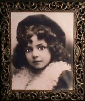 """Haunted Antique Vintage Photo the """"EYES FOLLOW YOU"""""""