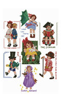 "ABC Designs Amusing Kids Machine Embroidery Cross Stitch 7 Designs 5""x7"" hoop"