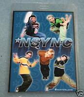 NSYNC Backstage Laminate Pass -  Novelty