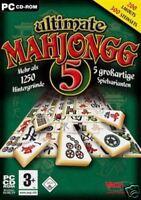 Ultimate Mahjongg 5 - 5 großartige Spielvarianten! NEU!