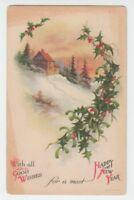 1921 POSTCARD UNSIGNED ELLEN H. CLAPSADDLE WOLF & CO.