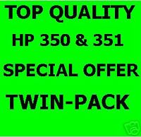 HP 350 and 351 Inks C4280 C4380 C5280 C4480 C4580 D5360
