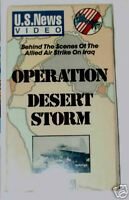 VHS Video Operation Desert Storm Behind The Scenes