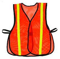 High Visibility Traffic Sport Safety Reflective Vest