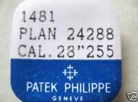 PATEK PHILIPPE WATCH PART 1481 REDUCTION  WHEEL 28-255,28-255C