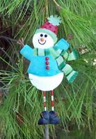 Big Snowman Christmas String Ornament  Regal Art