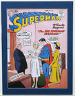 SUPERMAN 120 Pin up poster Matted Frame Ready DC Comics