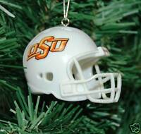 Oklahoma State University Football Helmet Christmas Ornament