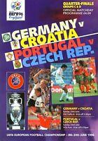 EURO 96 Q-FINAL - GERMANY v CROATIA / PORTUGAL v CZECH