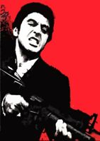 Scarface OIl Painting 40x28 NOT giclee print or poster.