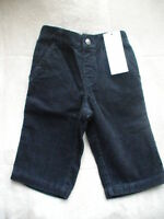 NWT GYMBOREE TRAIN TIME CORDUROY NAVY PANTS 6-12 M XMAS