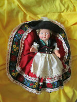 Doll german bavarian hard plastic with mermaid mark created byschoberl & becker