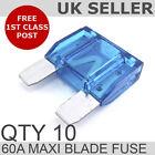 60A Blue Maxi Blade Fuse *QTY 10*
