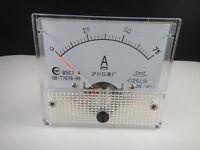 Analog AMP Panel Meter Gauge DC 0-75A 85C1 + Shunt