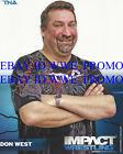 TNA IMPACT WRESTLING 8X10 PROMO P-69 PHOTO DON WEST NEW