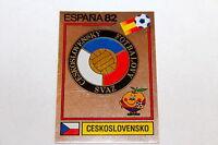 Panini WM WC ESPANA 82 1982 – BADGE WAPPEN SCUDETTO No. Nr. 256 CESKOSLOVENSKO