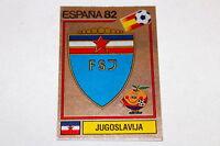 Panini WM WC ESPANA 82 1982 – BADGE WAPPEN SCUDETTO No. Nr. 310 YUGOSLAVIA