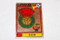 Panini WM WC ESPANA 82 1982 – BADGE WAPPEN SCUDETTO No. Nr. 382 SSSR RUSSIA