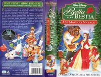 La Bella e la Bestia. Un magico Natale (1998) VHS (VS 4759)