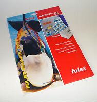 FOLEX Inkjet Magnetic Paper Pack of 3 A4 Sheets