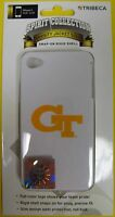 GEORGIA TECH YELLOW JACKETS iPhone 4 / 4G / 4S Faceplate Case Cover Technology
