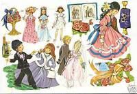 1 Bogen Glanzbilder Poesie Hochzeit MLP 1525 Nr.703