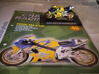 Deagostini Champion Racing Bikes - Issue 43 - Suzuki GSX R 750 - P Chili