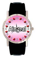 Name - Aingeal Mens Ladies Genuine Leather Water Resistant Wrist Watch SA1617