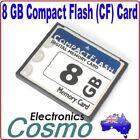 8GB 8G Compact Flash CF I II Memory Flash Card For SLR Camera New High Quality