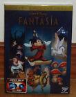 FANTASIA-EDICION ESPECIAL-DVD-DISNEY CLASICO Nº 3- PRECINTADO -NUEVO - ANIMACION
