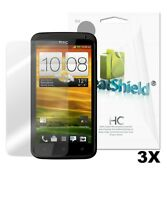 GreatShield 3x Ultra Clear Screen Protector Film for HTC One X (3 Pack)
