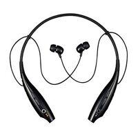 LG Tone HBS-700 Wireless Bluetooth Stereo Headset LG Retail Package Black/Orange