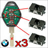 3X PACK 3 PULSADORES BMW 3 320 330 XD E46 525 530 535 X3 X5 SWITCH INTERRUPTORES
