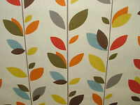 Prestigious Evergreen 100% Cotton Designer Curtain Upholstery Blind Fabric