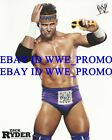 WWE Wrestling OFFICIAL LICENSED WHITE PROMO PHOTO 8x10 Zack Ryder WOO WOO WOO