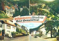 AK, Wildemann Oberharz, 4 Teilansichten, ca. 1965, V. 1