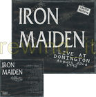 "IRON MAIDEN ""LIVE AT DONINGTON"" DOUBLE CD ITALY LIMITED ED"