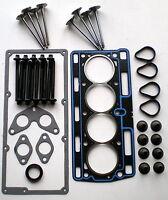 HEAD GASKET SET BOLTS 8 VALVES CLIO KANGOO TWINGO 1.1 1.2 8V D7F 96-01 RENAULT