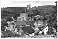 AK, Oberreifenberg Ts., Teilansicht mit Burg, ca. 1956