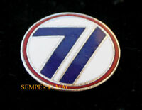 US ARMY 71ST INFANTRY DIVISION HAT PIN The Red Circle WORLD WAR 2 USA 71ST ID