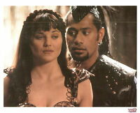 "Xena 8X10 litho photo Season 1 one Xena and Draco from ""Sins of the Past"""