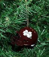 Mississippi State Bulldogs Football Helmet Christmas Ornament