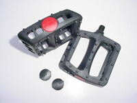 BMX BICYCLE PEDALS FIT MOUNTAIN BIKE AND OTHERS PLASTIC COMPOSITES