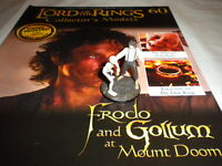 Lord of the Rings Figures - Issue 60 - Frodo & Gollum at Mount Doom ***