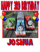 New Thomas the Train Personalized Birthday T Shirt Party Favor Present Gift