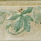 Scrolls, Sage Leaf & Gold Berry - ONLY $6 - Wallpaper Border 1026
